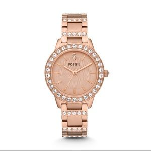 EUC Fossil Rose Gold womens watch